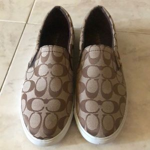 Coach Slip-On Shoes. Never Worn.